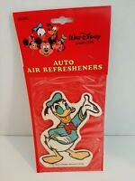 1980's Vintage Walt Disney Donald Duck Car Air Freshener Larger