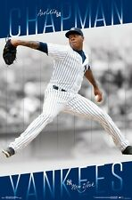 AROLDIS CHAPMAN - NEW YORK YANKEES POSTER - 22x34 MLB BASEBALL 15660