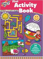 Galt FIRST ACTIVITY BOOK Kids Art Craft Toy BN