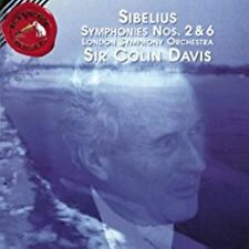 Sibelius: Symphonies No. 2 & 6 London Symphony Orchestra CD NEW factory sealed