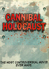 CANNIBAL HOLOCAUST Deluxe Edition *BANNED VARIANT SLIPCOVER* Chas Balun DEEP RED