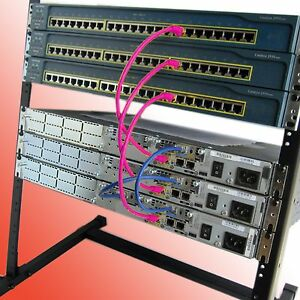 CISCO  CCNA CCNP  LAB KIT FREE RACK  #1 Best Seller