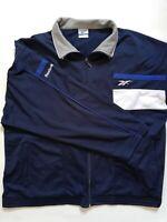 Reebok Sport Jacket Nice Men's Blue Jacket Size M Outdoor Run Polyester 2FW001