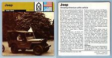 Jeep - 1940-45 - Weapons - WW2 Edito-Service SA 1977 Card