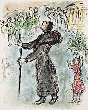 Ulysses Disguised as Beggar The Odyessy 1989 Limited Edition Litho Marc Chagall