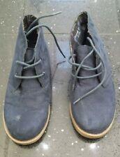 Boys navy desert boots suede effect kids uk size 2 primark shoes smart casual