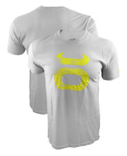 Jaco Grunge Silver/Yellow Crew Shirt. Small Gym Workout Fitness Crossfit MMA