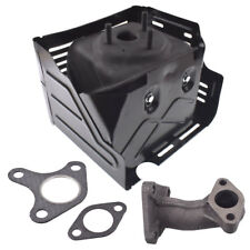 Muffler Exhaust 11HP & 13HP Fits Honda Lawn Mower GX340 GX390 Replaces