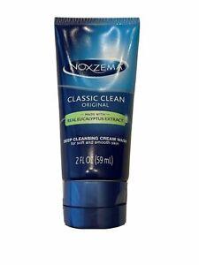 Noxzema Classic Clean Original Deep Cleansing Cream Wash Eucalyptus Extract 2oz