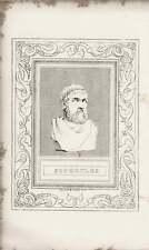 1835 Retrato Grabado Sófocles