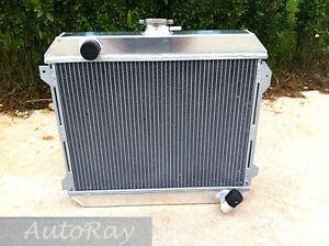 Full Aluminum Radiator for Nissan Datsun Stanza 620 L20B 75-79 Manual 3 Rows