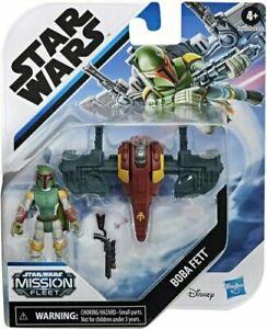 Hasbro Star Wars Mission Fleet Boba Fett Figure and Vehicle - Same day dispatch
