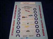 SUPER SCALE DECALS B-25D JELLY-BELLY LUCKY BAT TIN LIZ CRAB 2ND 72-691 1:72