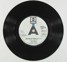 ISAAC HAYES - ROCK ME EASY BABY PT.1 & 2 (UK PROMO)EXCELLENT+ VINYL