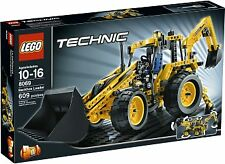 Lego Technic Backhoe Loader (8069) Complete