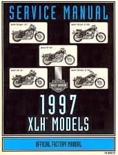 1997 HARLEY-DAVIDSON XLH SPORTSTER MODELS SERVICE MANUAL -XLH883-XL1200
