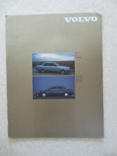 Original 1980s Volvo 240 760 & 740 automobiles advertising brochure