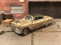 1953 Oldsmobile Rusty Weathered Barn Find Custom 1/64 Diecast Car Farm Rust M2