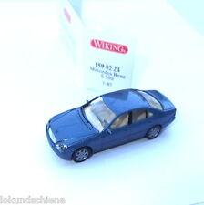 MERCEDES Benz classe s bleu clair met. wiking ho 1:87 #3228