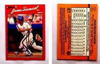 Juan Samuel Signed 1990 Donruss #53 Card New York Mets Auto Autograph