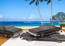 Papercraft 1974 Mercury Marquis T.V. car Hawaii Five-O Paper Car EZU-Build