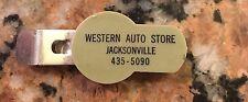 "1950S Western Auto Store Bottle Opener/Cap Jacksonville, Alabama 3"""