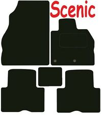 Tailored Deluxe Quality Car Mats Renault Scenic 2009-2017 ** Black **