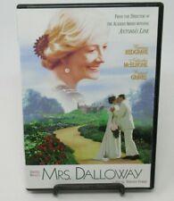 MRS. DALLOWAY DVD MOVIE, VANESSA REDGRAVE, NATASCHA MCELHONE, RUPERT GRAVES, LBX