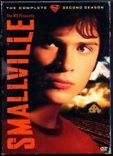 Smallville DVD Set Season 2 Two Superboy Superman Tom Welling Kristin Kreuk 2004