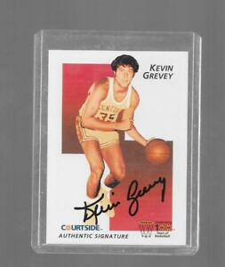 1992 Courtside - KEVIN GREVEY - Certified Autograph - KENTUCKY WILDCATS