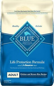 Blue Buffalo Life Protection Formula Adult Chicken & Brown Rice Recipe Dry Food