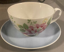 Cath Kidston Large Floral Breakfast Cup and Saucer