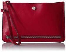 NEW Nine West Table Treasures 3 Zipper Wristlet Clutch Handbag Ruby Red