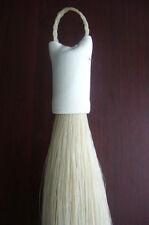 horse hair extension 170gram in white  length 70--76cm