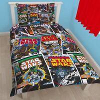 Starwars Issues Comics Single Reversible Duvet Set Quilt Cover Childrens Bedding