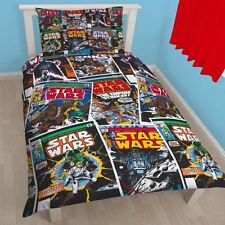Starwars Issues Comics Single Reversible Duvet Set Quilt Cover Childrens Bedding