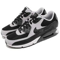 Nike Air Max 90 Essential Black Wolf Grey Mens Running Shoes 537384-053