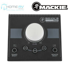 Mackie Big Knob Passive 2x2 Home Studio Monitor Professional Level Controller