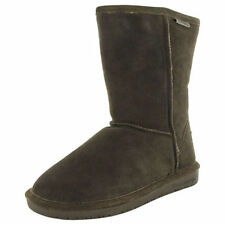 Suede Wide (C, D, W) Solid Shoes for Women