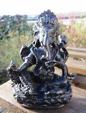 Fair Trade Hand Made Carved Nepalese Ganesh Ganesha Elephant Hindu Deity Statue
