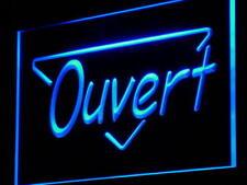 j150-b OUVERT OPEN Display Néon Enseigne Lumineuse