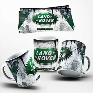 Vintage Distressed Land Rover Oil Can Mug Retro Car Coffee Cup - Perfect Gift