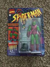 "Marvel Legends Vintage Retro Green Goblin 6"" Figure In Hand"