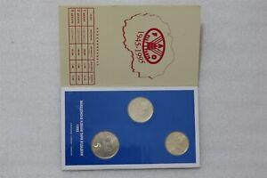 SINGAPORE - 1986 - YEAR of the TIGER MINT SET B38 CG10