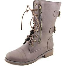 Daily Shoes Zippore Women US 7.5 Brown Mid Calf Boot NWOB  1585