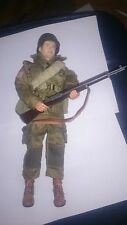DID/DRAGON WW2 Custom US 101st 82nd AIRBORNE Paratrooper With Dragon Figure