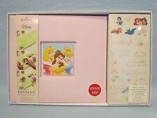 8x8 Hallmark Disney Princess Scrapbook Photo Album-NIB~Cinderella~Aurora~Bell