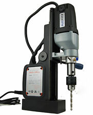 NEW! BLACK BRM-35A-B - BLUEROCK ® Magnetic Drill - Mag Drill Typhoon Model