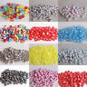 Wholesale!100-500pcs Mixed Alphabet/Letter Acrylic circular Beads 4x7mm