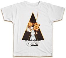 Clockwork Orange Movie Poster T-Shirt Mens Dad Present Gift Top
